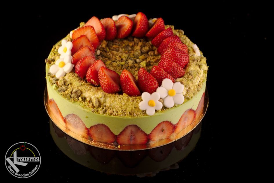 fraisier pistache