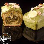 gemarmerde matcha cake