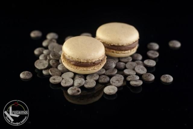 Macaron chocolade