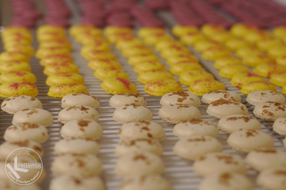 schelpen macarons